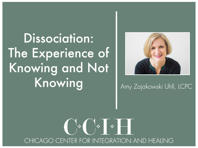 Dissociation: The Experience of Knowing and Not Knowing